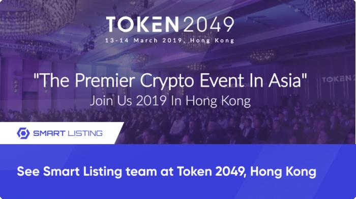 See Smart Listing team at Token 2049, Hong Kong