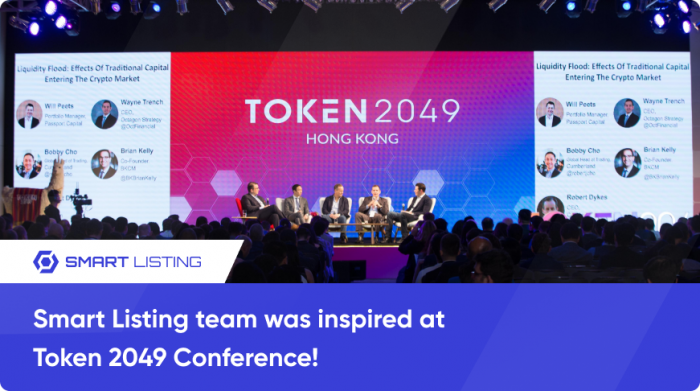Smart Listing team was inspired at Token 2049 Conference! (2)